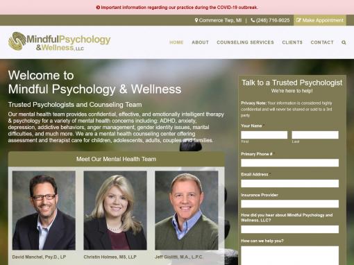 Psychologist Website