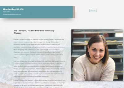 Therapist Website